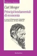 PRINCIPI FONDAMENTALI DI ECONOMIA POLITICA
